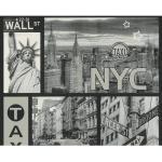 Papier Peint Scope Manhattan Black White