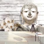 Papier peint - Smiling Buddha - Décoration, image, art - Orient