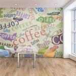 Papier peint - The fragrance of coffee - Décoration, image, art