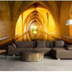 Papier peint - The Golden Corridor - Décoration, image, art - 3D