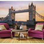 Papier peint - Tower Bridge à l'aube - Décoration, image, art -