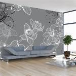 Papier peint - Winter flora - Décoration, image, art - Fonds et