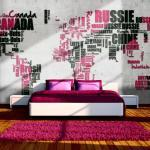 Papier peint - World of travel - 450x270 - Carte du monde -