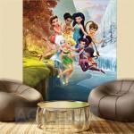 Papier peint XL intisse Clochette et le secret des Fées Disney 180X202 CM