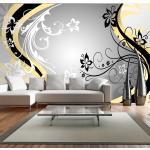 Papier peint XXL - Art-flowers (yellow)