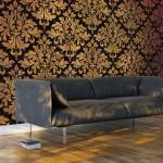papier peint xxl - golden baroque - artgeist - 500x280