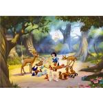 Papier peint XXL intisse Blanche Neige & animaux de la forêt 360X255 CM