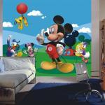 Papier peint XXL intisse La Maison de Mickey & Minnie Disney 360X255 CM