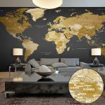 Papier peint XXL - World Map: Modern Geography II - Décoration,