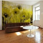 Papiers peints intissés Jardindeco jaunes