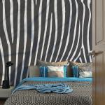 Papier Peint   Zebra Pattern (Noir Et Blanc)   300x231   -