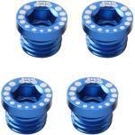 Fourches de VTT bleues