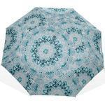 Parapluie de Voyage étanche Mandala Forme de Flocon de Neige Fleur 3 parapluies d'art (Impression extérieure Outside Parapluie Pliable pour Parapluie de Protection Solaire de Voyage Parapluies pour