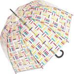 Parapluies Cannes Happy Rain Benetton Parapluie Canne, 100 Cm, Transparent 115333