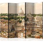 Paravent 5 Volets Rome : Panorama 172x225cm - Paris Prix