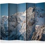 Paravent 5 Volets Winter in the Alps 172x225cm - Paris Prix