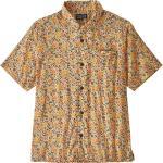 """PATAGONIA Chemise randonnée M's Lw A/c Shirt Cover Crop:vela Peach Homme Jaune/Noir/Orange """"L"""" 2020"""