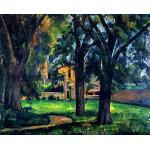 Paul Cezanne 084 - Film Movie Poster - Best Print Art Reproduction Quality Wall Decoration Gift - A2Canvas (20/16 inch) - (51/41 cm) - Stretched, Ready to Hang