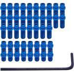 Pédales DMR Flip Pin Set for Vault - Bleu - 44 Pack, Bleu