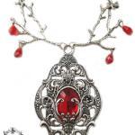 Pendentif De Mina, Collier Gothique, Pendentif, Bijoux Gothiques