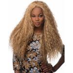 Perruques Longue Crépus Bouclés Blonde Afro-Américain