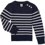 Pulls Petit Bateau bleus enfant look fashion