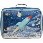 Petite valise à paillettes Espace A Little Lovely Company