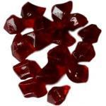 Pierres décoratives pour cheminée - en fibre de verre rouge CHEMIN' ARTE