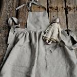 Pinafore De Linge Pour Filles, 11 Couleurs Différentes, 13 Broderies Tablier Fille, Filles Vêtements