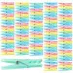 Pinces à linge en plastique 7 cm en 4 coloris - x100 Pearl