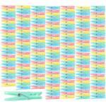 Pinces à linge en plastique 7 cm en 4 coloris - x200 Pearl