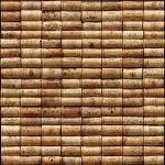 Plage 145106 Panoramique Intissé Pile De Bouchons 250cm X 250cm, Beige, 2,5x 2,5m