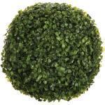 Plante Artificielle Boule de Buis 26cm Vert - Paris Prix