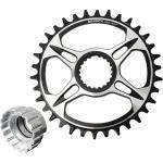 Plateau De Vélo 32-38t Pour Shimano M6100 / 7100/8100/9100 34t + Outil De Montage