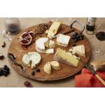 Plateau fromage en bois de fût grand modèle