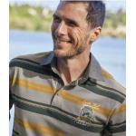 Polo Rugby Col Chambray
