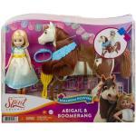 Poupée Abigaëlle Spirit et son cheval Boomerang Deluxe