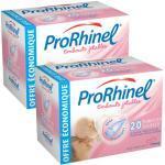 ProRhinel Embouts Jetables Boîte de 20 Lot de 2