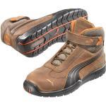 Chaussures de sécurité Puma marron pour homme