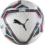 Puma teamFINAL 21.3 FIFA Quality Ball Ballon De Foot Mixte Adulte, White-Rose Red-Ocean Depths Black-Omphalodes, 5