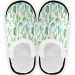 Chaussures multicolores à motif cactus pour femme