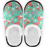Chaussures multicolores à motif écureuils pour femme