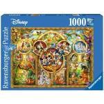 Puzzle 1000 p - Les plus beaux thèmes Disney