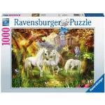 Puzzle 1000 p - Licornes dans la forêt
