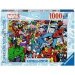 Puzzle 1000 p - Marvel (Challenge Puzzle)