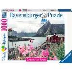 Puzzle 1000 p - Reine, Lofoten, Norvège (Puzzle Highlights)