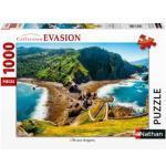 Puzzle 1000 pièces - l'île aux dragons
