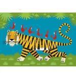 Puzzle En Bois Art Maxi 24 Pièces : Olivier Lake : Le Tigre