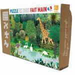 Puzzle en bois L'oasis de Kirikou 24 pièces Puzzle Michèle Wilson® -