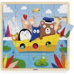 Puzzle en bois Puzzlo Boat (25 pièces) Djeco